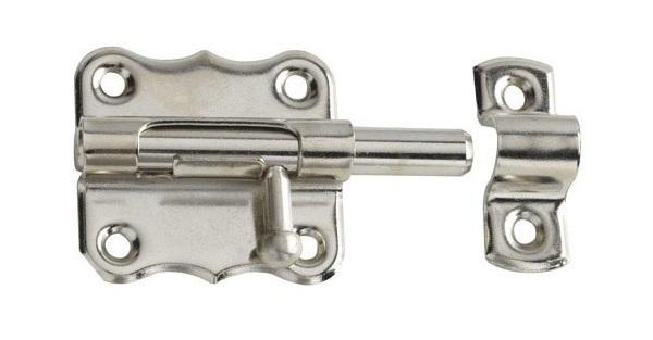 Instalar un cerrojo de seguridad en nuestra puerta for Cerrojo para puerta de bano